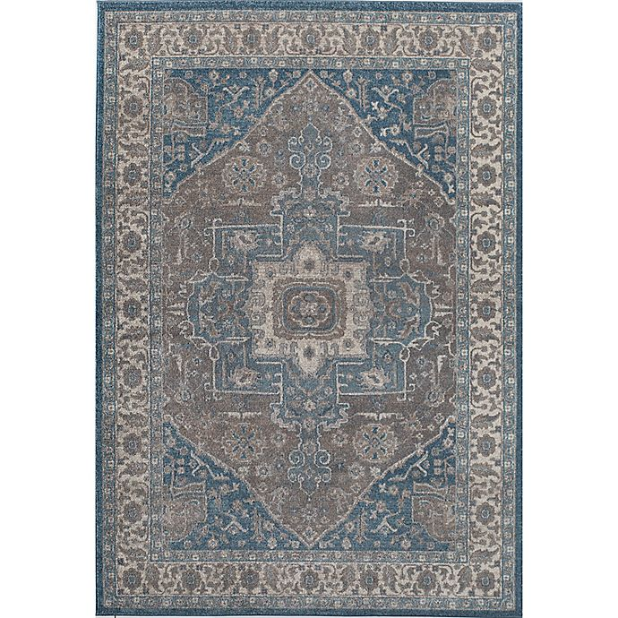 Alternate image 1 for Rugs America Estelle Medallion 2' x 3' Accent Rug in Grey