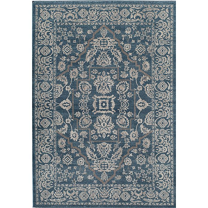 Alternate image 1 for Rugs America Estelle Rug in Blue/Ivory