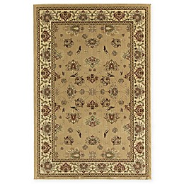 Rugs America New Vision Kashan Moss Area Rug