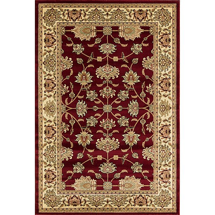 Alternate image 1 for Rugs America New Vision Kashan Moss 7'10 x 10'10 Area Rug in Red
