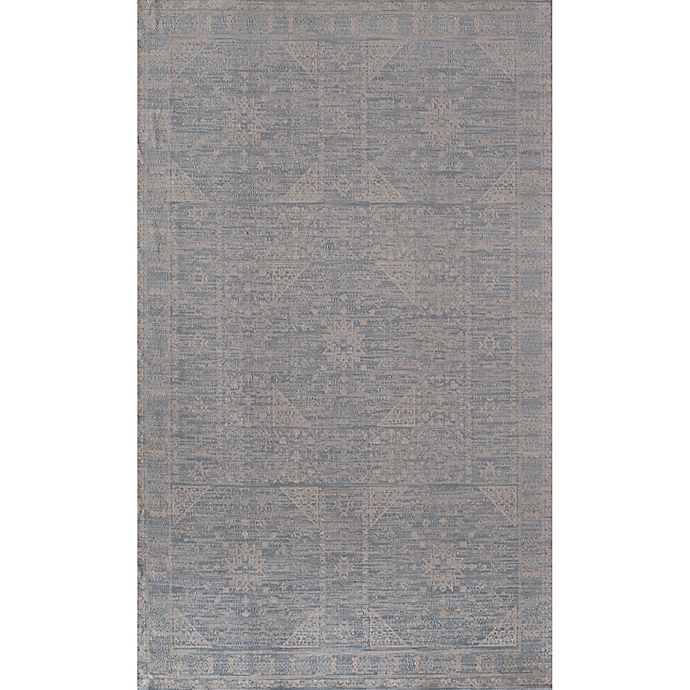 Alternate image 1 for Rugs America Wilshire Loomed 2' x 4' Accent Rug in Blue