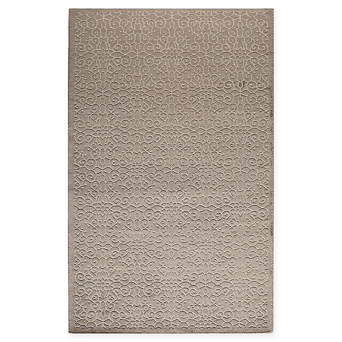 Alternate image 1 for Rugs America Riviera Loomed 5' x 8' Area Rug in Tan
