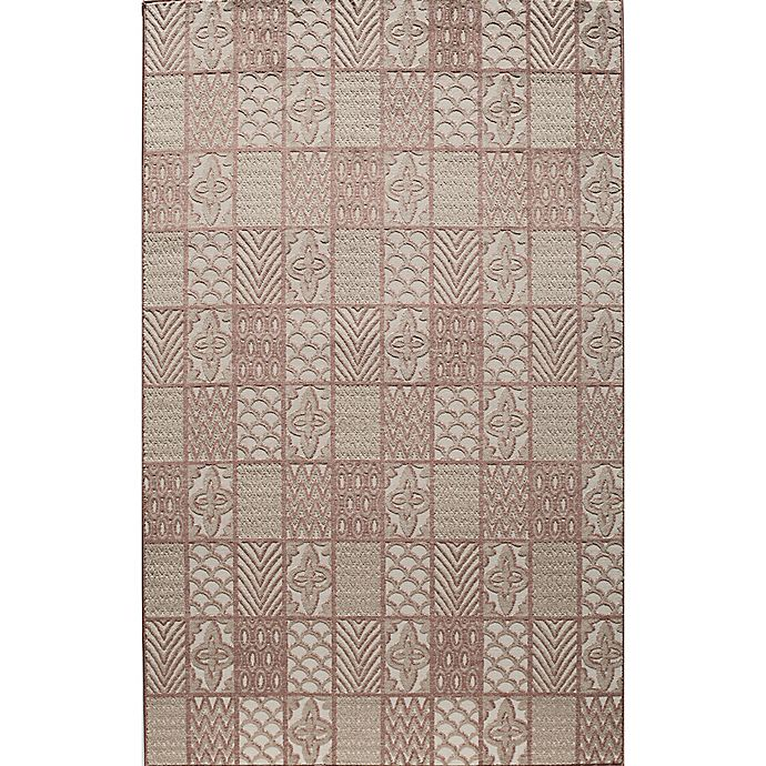Alternate image 1 for Rugs America Riviera Loomed 8' x 10' Area Rug in Rust Red
