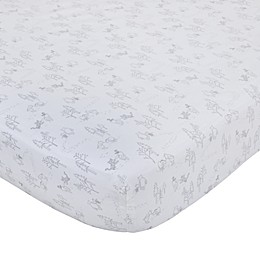 Disney® Classic A Day with Pooh Fitted Crib Sheet