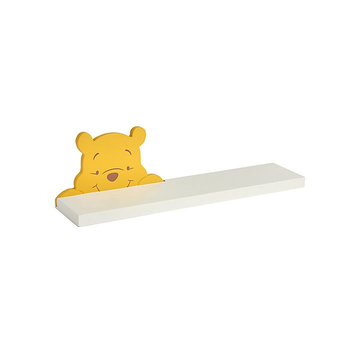 Alternate image 1 for Disney® A Day With Pooh Wall Shelf in White