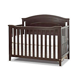 Sorelle Glendale 4-in-1 Convertible Crib in Espresso