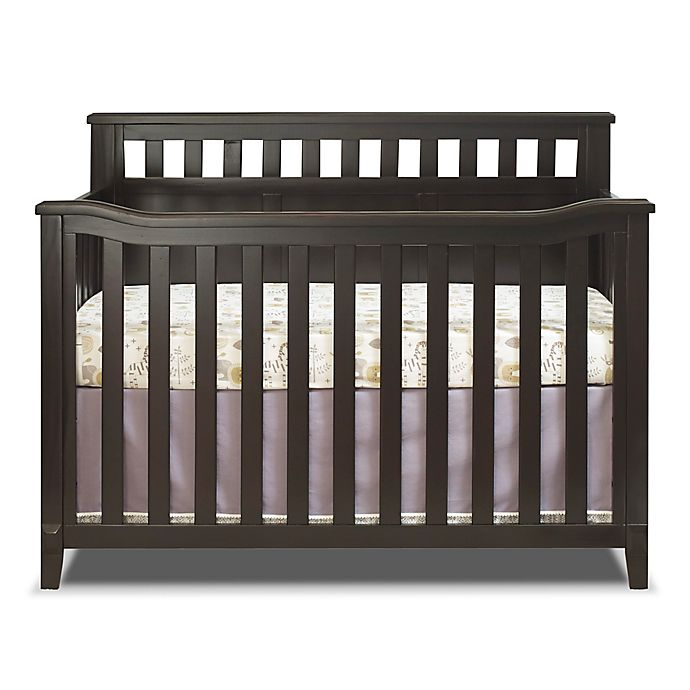 Alternate image 1 for Sorelle Madrid 4-in-1 Convertible Crib in Espresso