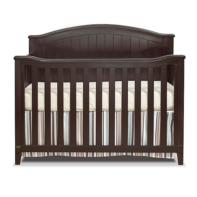 Alternate image 1 for Sorelle Fairview 4-in-1 Convertible Crib in Espresso