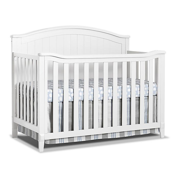 Alternate image 1 for Sorelle Fairview 4-in-1 Convertible Crib in White