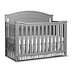 Sorelle Glendale 4-in-1 Convertible Crib in Grey