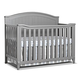 Sorelle Fairview 4-in-1 Convertible Crib in Grey