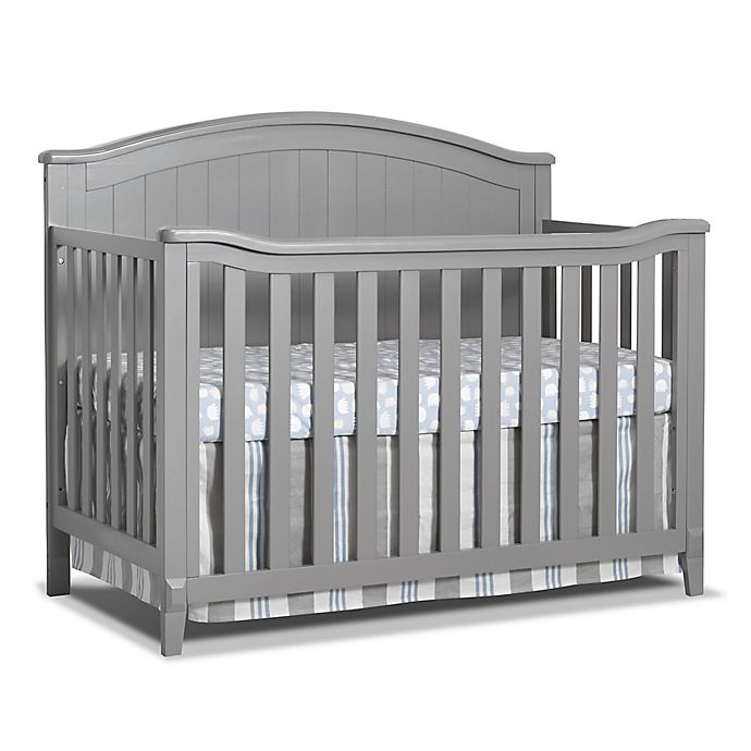 Alternate image 1 for Sorelle Fairview 4-in-1 Convertible Crib in Grey