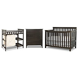 Sorelle Palisades 3-Piece Room-In-A-Box Nursery Furniture Collection in Espresso