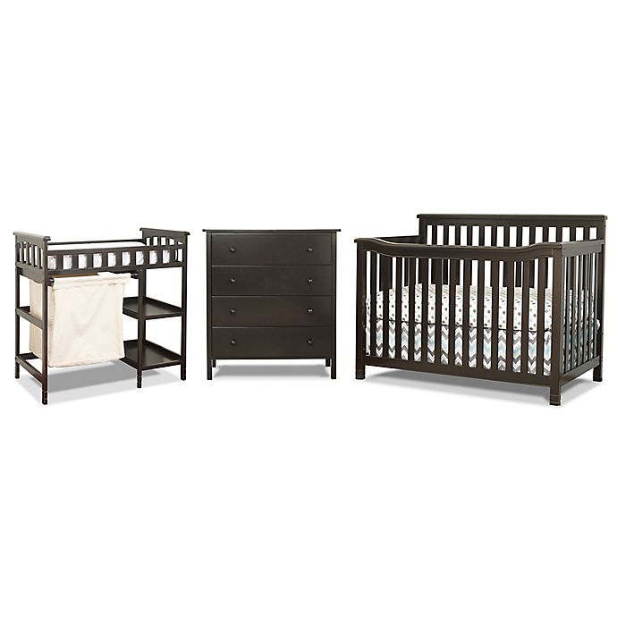 Sorelle Palisades 3 Piece Room In A Box Nursery Furniture