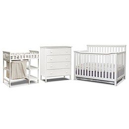 Sorelle Palisades 3-Piece Room In A Box Nursery Furniture Collection in White