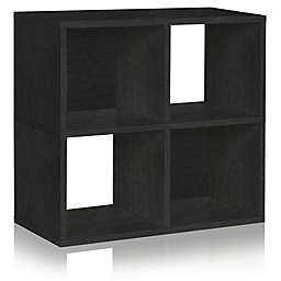 Way Basics Eco Quad Cube Bookcase