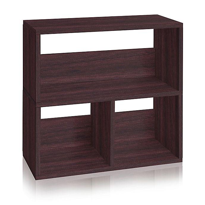 Way Basics Eco 3 Cubby Bookcase Buybuy Baby