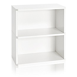 Way Basics Eco 2-Shelf Bookcase