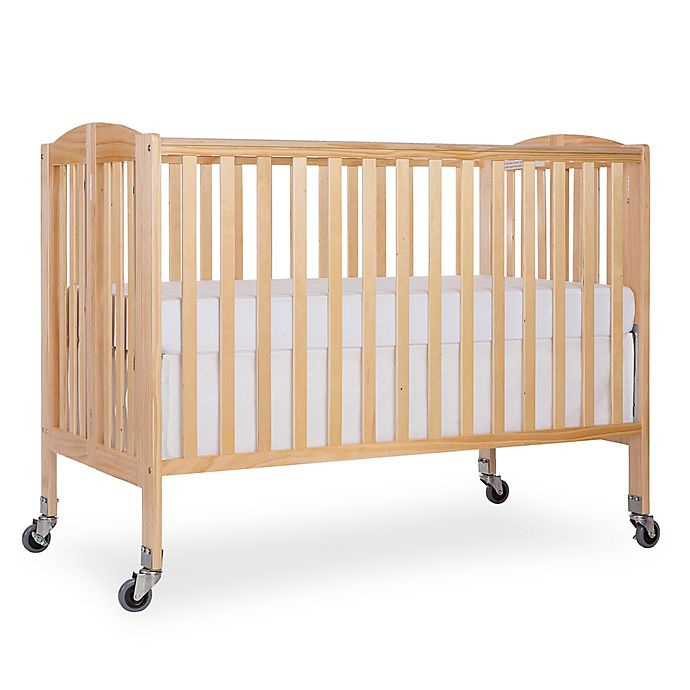 Alternate image 1 for Dream On Me Folding Full Size Crib