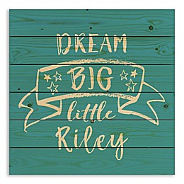 Designs Direct Dream Big Pallet Wooden Wall Art