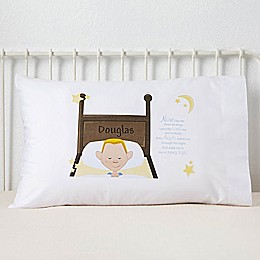 His Bedtime Prayer Character Pillowcase