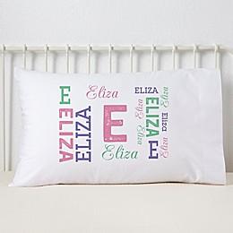 Repeating Girl Name Pillowcase
