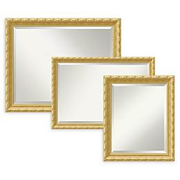 Amanti Art Versailles Bathroom Mirror in Gold