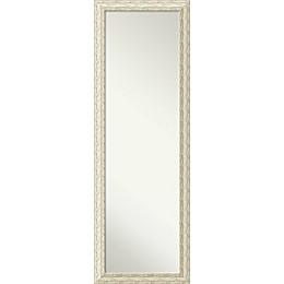 Amanti Cape Cod On-the-Door Mirror in White Wash