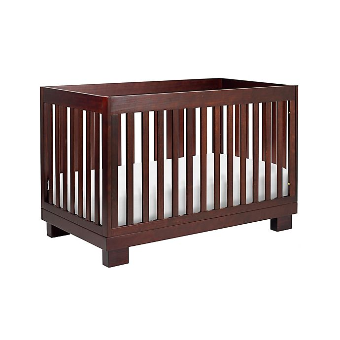 Alternate image 1 for Babyletto Modo 3-in-1 Convertible Crib in Espresso