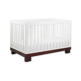 Babyletto Modo 3-in-1 Convertible Crib in Espresso and White