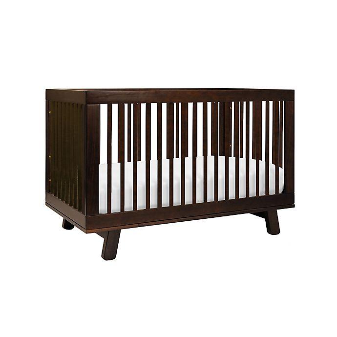 Alternate image 1 for Babyletto Hudson 3-in-1 Convertible Crib in Espresso