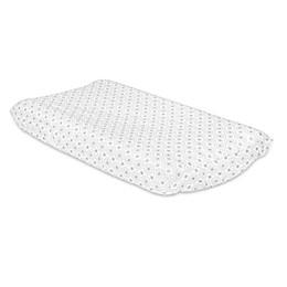 The PeanutShell™ Grey Diamond Changing Pad Cover