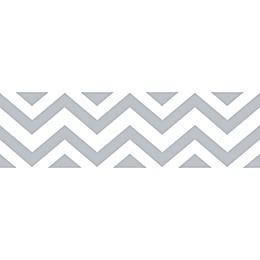 Sweet JoJo Designs Chevron Wallpaper Border in Grey/White