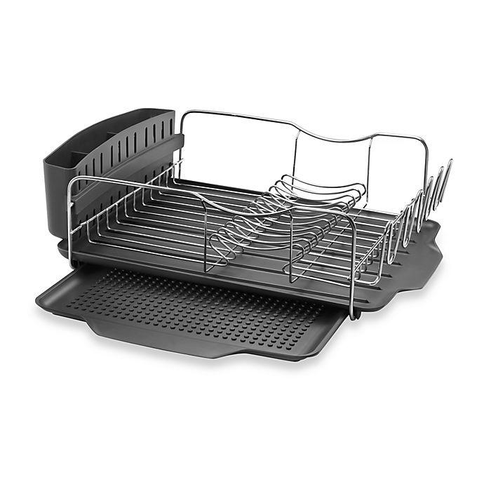 Polder Model Kth 615 4 Piece Advantage Dish Rack System Bed Bath