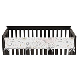 Sweet Jojo Designs Celestial Long Crib Rail Guard Covers