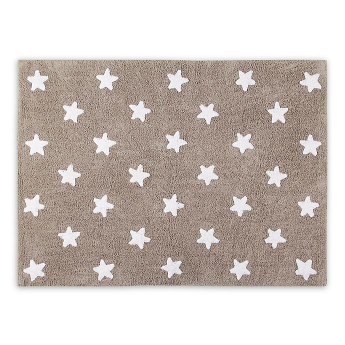 Alternate image 1 for Lorena Canals Stars 4'x5' Washable Area Rug