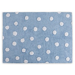 Lorena Canals Polka Dot 4'x5' Washable Area Rug