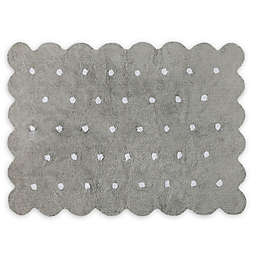 Lorena Cs Biscuit 4 X 5 3 Area Rug