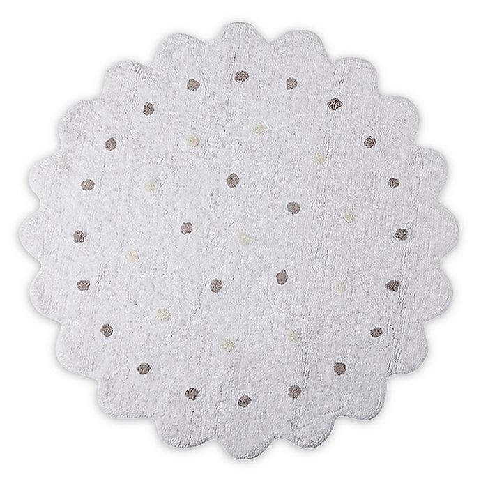 Alternate image 1 for Lorena Canals Biscuit 4' Round Accent Rug