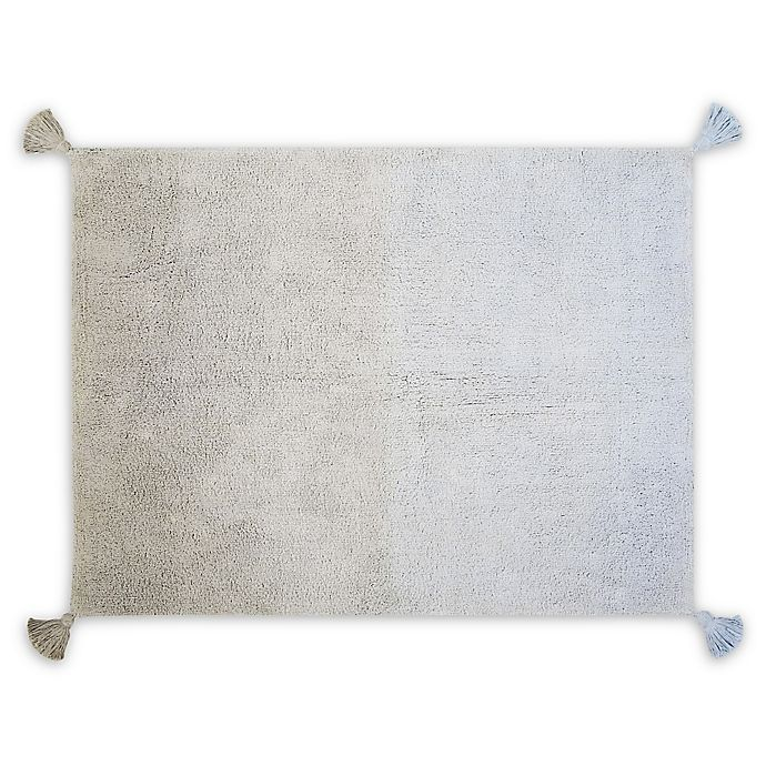 Alternate image 1 for Lorena Canals Ombre 4' x 5'3 Area Rug in Grey/Baby Blue