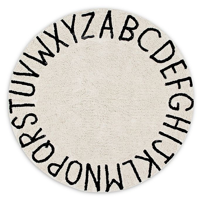 Alternate image 1 for Lorena Canals Vintage ABC 5' Round Area Rug