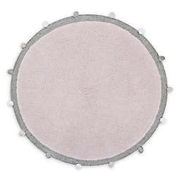 Lorena Canals Bubbly Round Area Rug in Pink