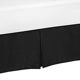 Sweet Jojo Designs Crib Skirt in Black