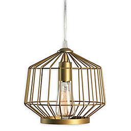 Kenroy Home Rolf 1-Light Swag Pendant in Gold