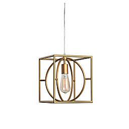 Kenroy Home Adele 1-Light Swag Pendant in Gold