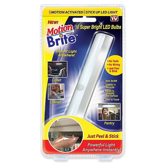 Alternate image 1 for Motion Brite Motion Activated Stick Up LED Light