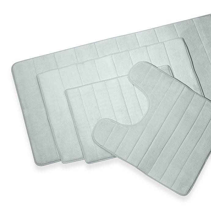 Microdry Ultimate Luxury Memory Foam 17 Inch X 24 Bath Mat