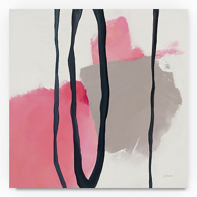 Alternate image 1 for Trademark Fine Art Somersault I 35-Inch Square Canvas Wall Art
