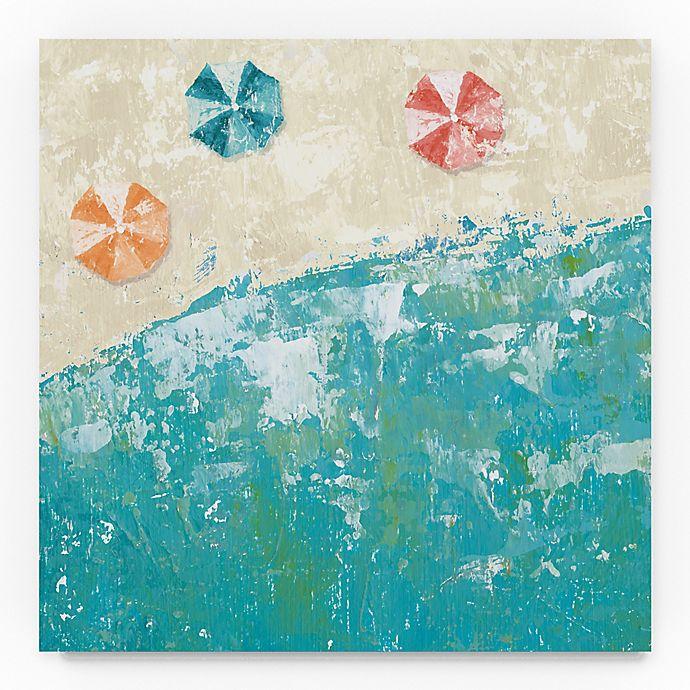 Alternate image 1 for Trademark Fine Arts Beach Days 35-Inch Square Canvas Wall Art
