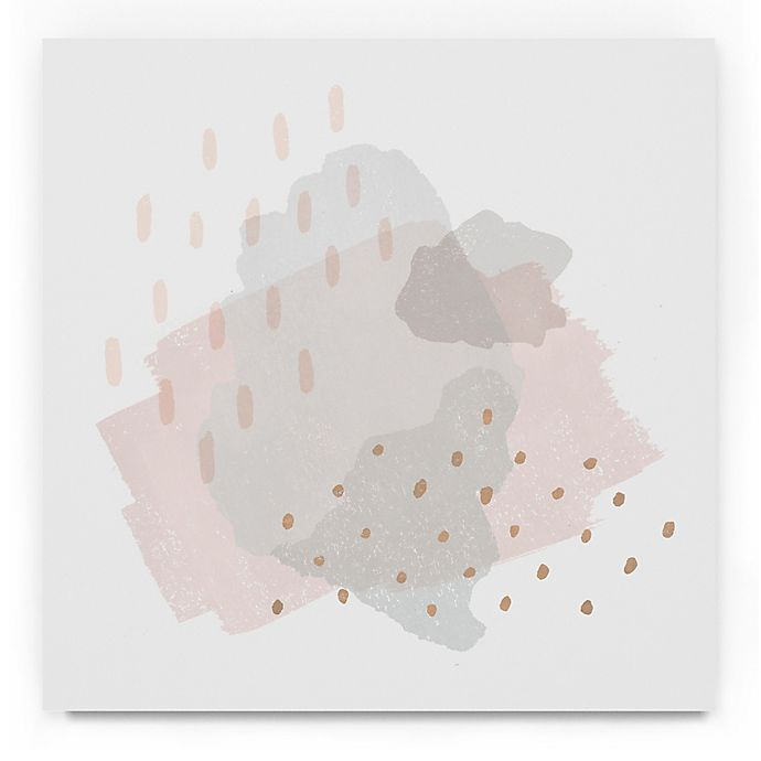 Alternate image 1 for Trademark Fine Art Lovely Blush III 18-Inch Square Canvas Wall Art